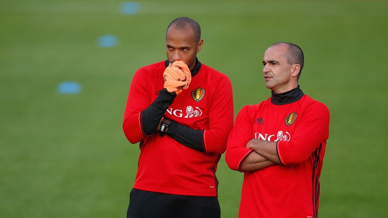 Henry has been assistant manager of Belgium since August last year