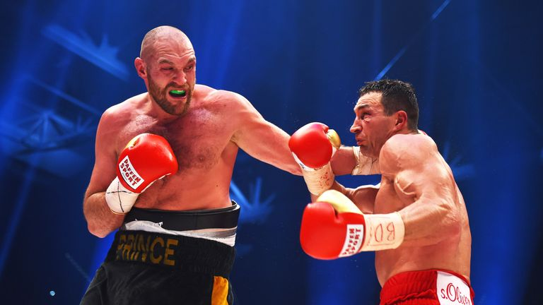 Fury has been absent from the ring since his world title win over Wladimir Klitschko in November 2015