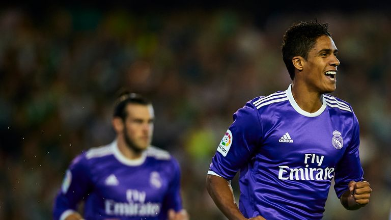 Raphael Varane opened the scoring for Real Madrid