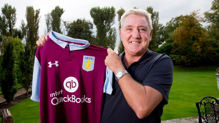 Steve Bruce has been appointed as the new manager of Aston Villa