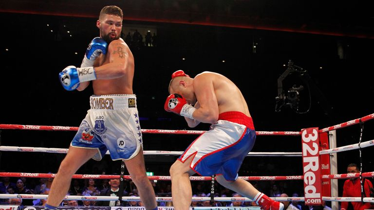 Bellew defended the WBC belt with a third round stoppage of BJ Flores in October