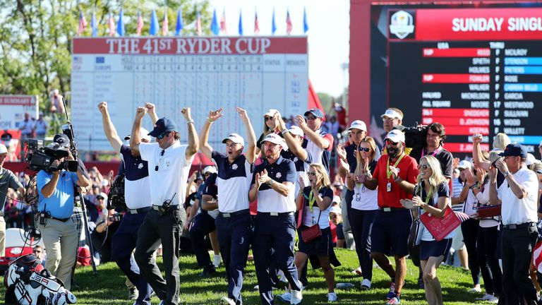 The Americans thoroughly deserved their victory, and holed the putts that mattered all week