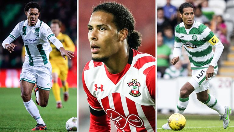 Van Dijk has built on the natural assets that were obvious in his early career