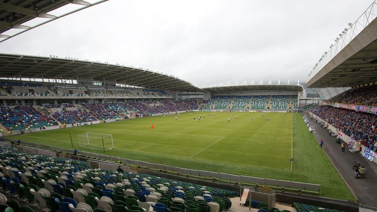 Northern Ireland's Windsor Park was redeveloped in 2016