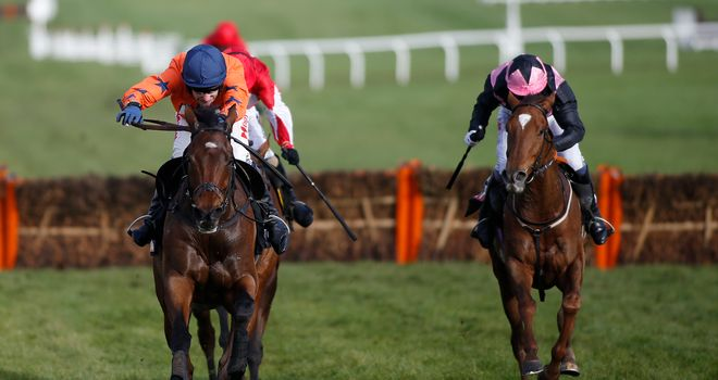 Moon Racer leads Mirsaale home in the closing stages