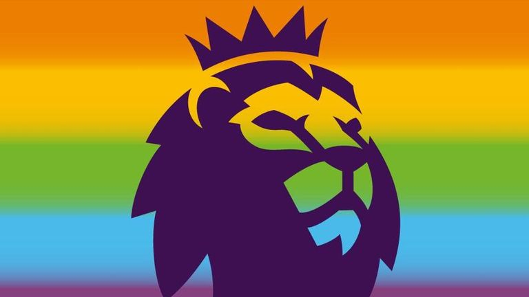 The Premier League used a special logo on its social media accounts during last year's Rainbow Laces week of action