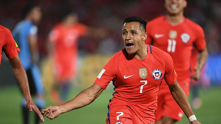 Alexis Sanchez will be assessed on Friday ahead of the trip to Manchester United