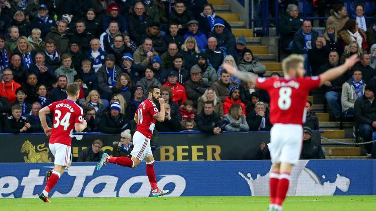 Alvaro Negredo's two goals weren't enough to see Boro take the win