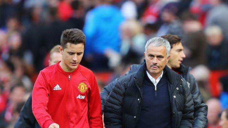 Ander Herrera is grateful to Jose Mourinho