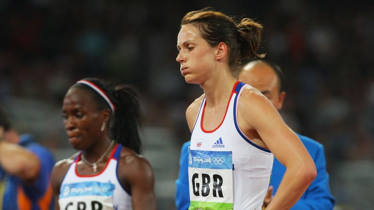 Kelly Sotherton and the rest of the 2008 relay team will get bronze medals