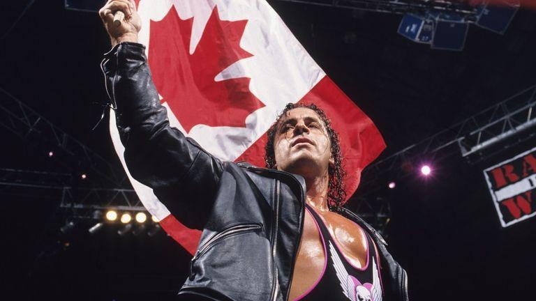 Bret Hart wrestled at 11 straight Survivor Series events