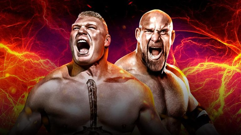 Lesnar will be looking for revenge, having lost to Goldberg at WrestleMania XX