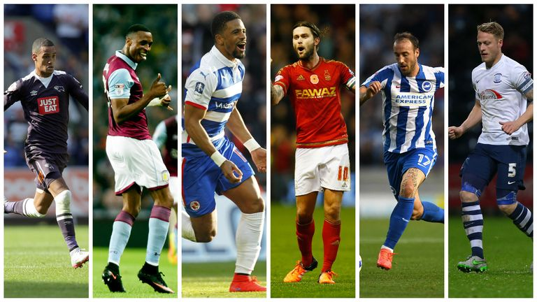Vote for your PFA Fans' Player of the Month in the Sky Bet Championship