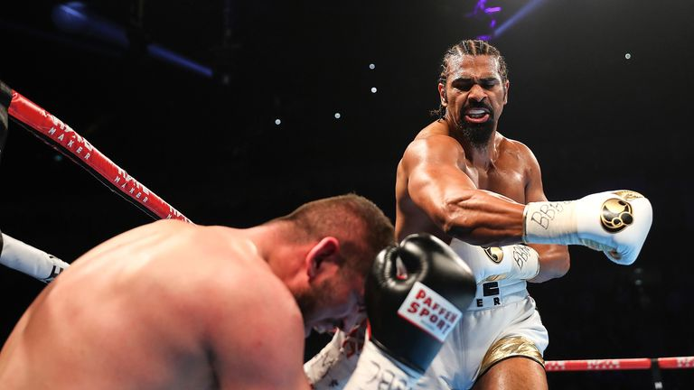 Haye has not fought since knocking out Arnold Gjergjaj in May