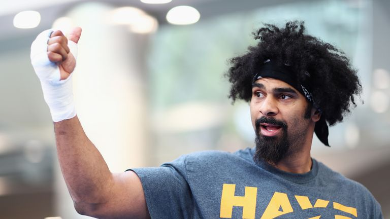 David Haye could be closer to a shot at his old WBA heavyweight belt