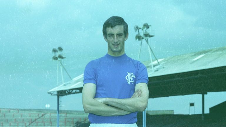 David Provan played over 250 competitive appearances during 12 years with Rangers