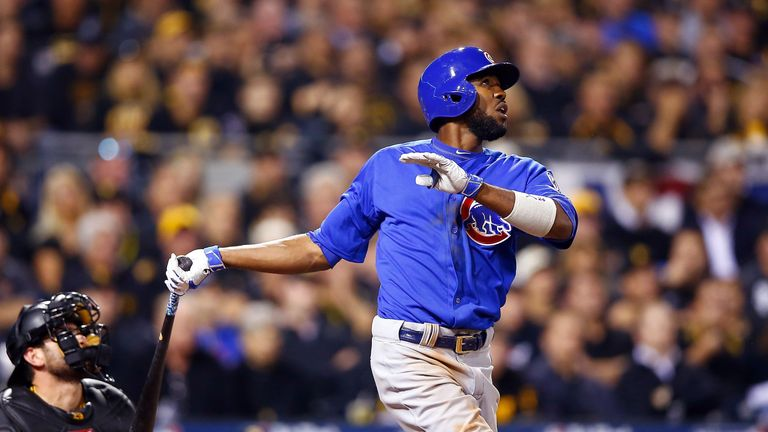 Dexter Fowler hit a solo home run in the fifth inning