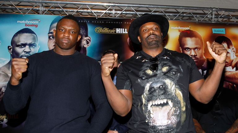 Whyte can be compared to Dereck Chisora, says Browne