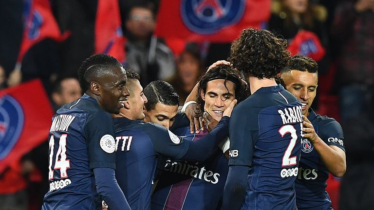 PSG have gone joint-top of Ligue 1 after victory on Saturday