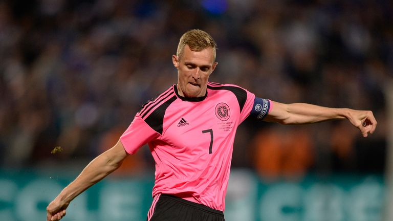 Darren Fletcher misses Scotland's games against Lithuania and Malta