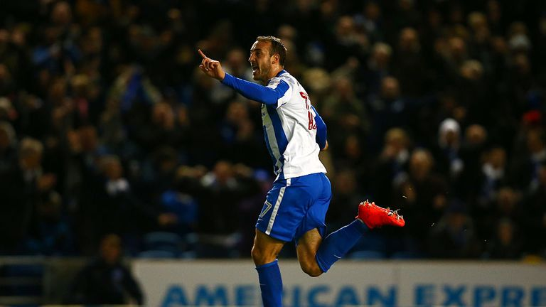 Glenn Murray will miss Tuesday night's game against Cardiff