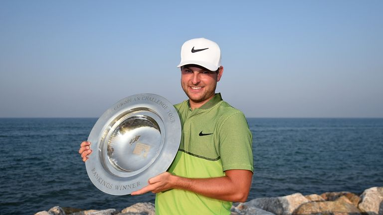 Jordan Smith played well throughout the year to win the Road to Oman