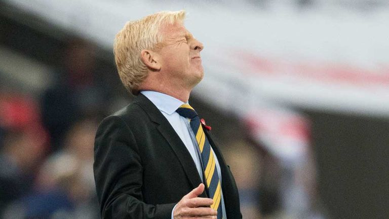 Gordon Strachan insists he is only thinking about Scotland ...