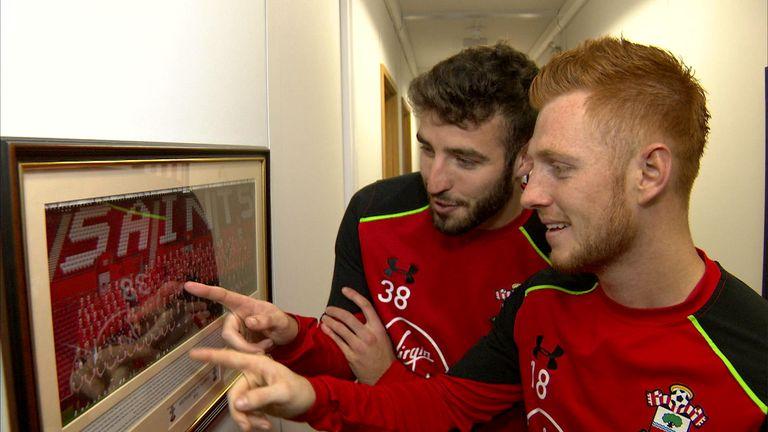 McQueen (L) came through Southampton's academy