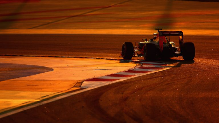 In one of this last races for the team, Daniil Kvyat takes the Red Bull for a spin in Bahrain - Picture from Getty Images