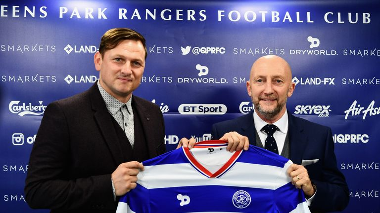 Bircham served as Ian Holloway's assistant at QPR