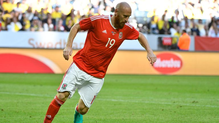 Collins was part of the Wales squad that reached the Euro 2016 semis