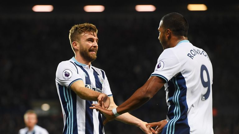 West Brom are yet to win a Premier League game without James Morrison in the team this season