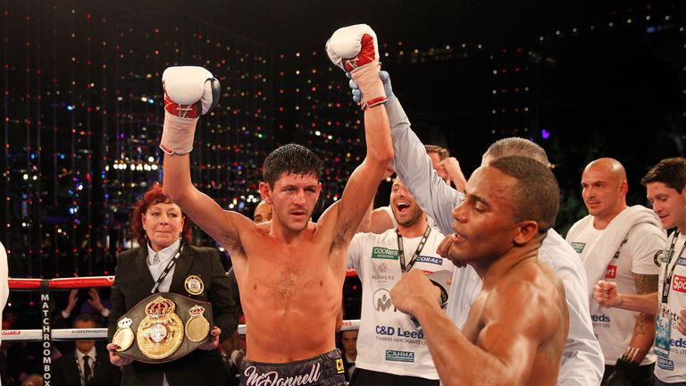 Jamie McDonnell claimed a points victory over Liborio Solis in November