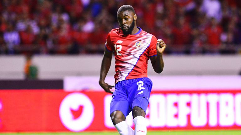 Arsenal's Joel Campbell is a reported target for Brighton