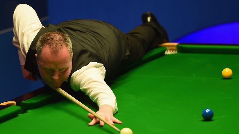 John Higgins now has eight maximum breaks to his name