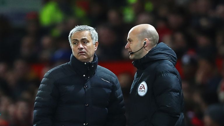 Mourinho missed the EFL Cup quarter-final tie, also against West Ham, after being handed a one-match touchline ban