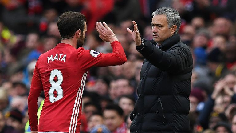Juan Mata was the last player Manchester United signed from a top-four rival