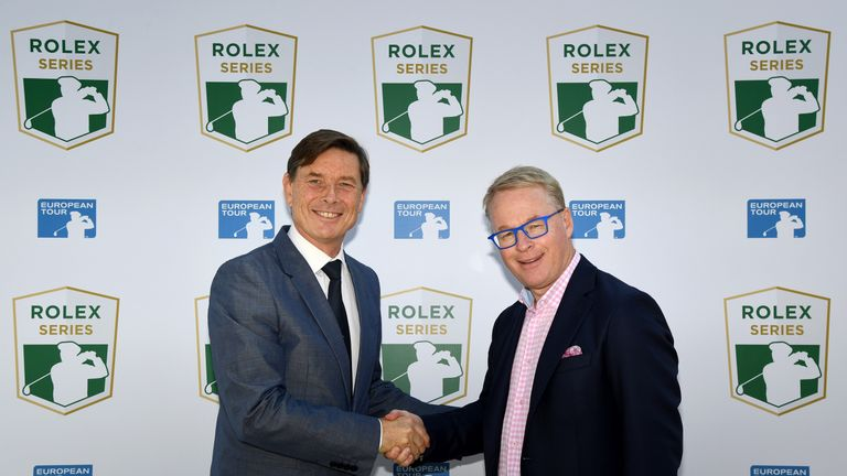 The Rolex Series begins with the BMW PGA Championship at Wentworth