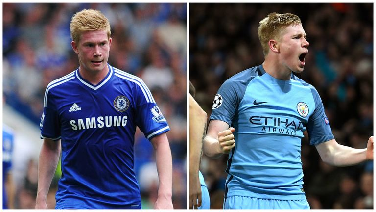 lowest price c21fe f3cbe Kevin de Bruyne's journey from Chelsea to Man City in quotes ...