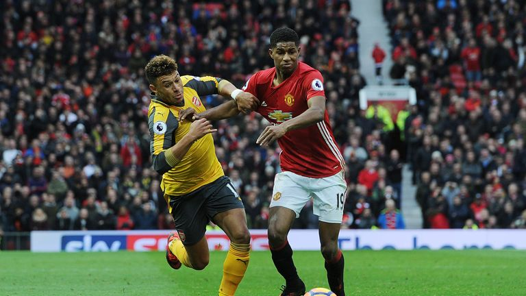 Arsenal snatched a late 1-1 draw at Manchester United last week