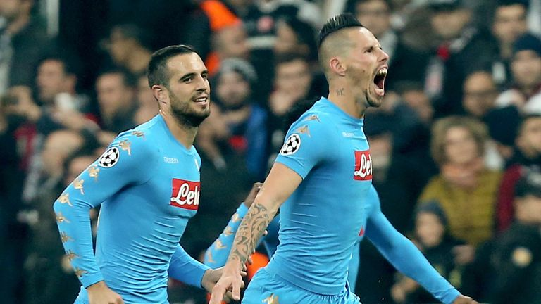 Napoli scored early on to see off Inter in Serie A on Friday