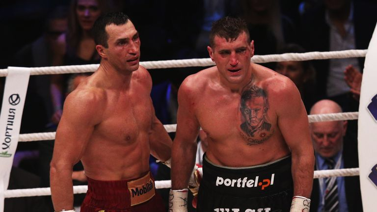 Mariusz Wach proved able to go the distance against Klitschko
