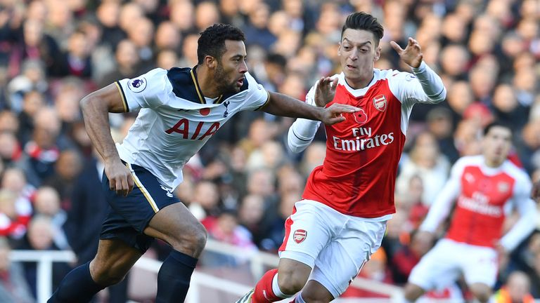 Dembele provided composure and control in Tottenham's midfield