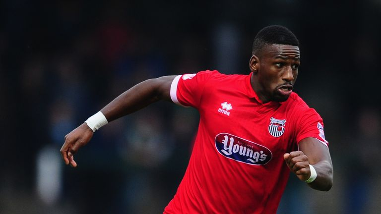 Grimsby striker Omar Bogle is League Two's top scorer with 19 goals