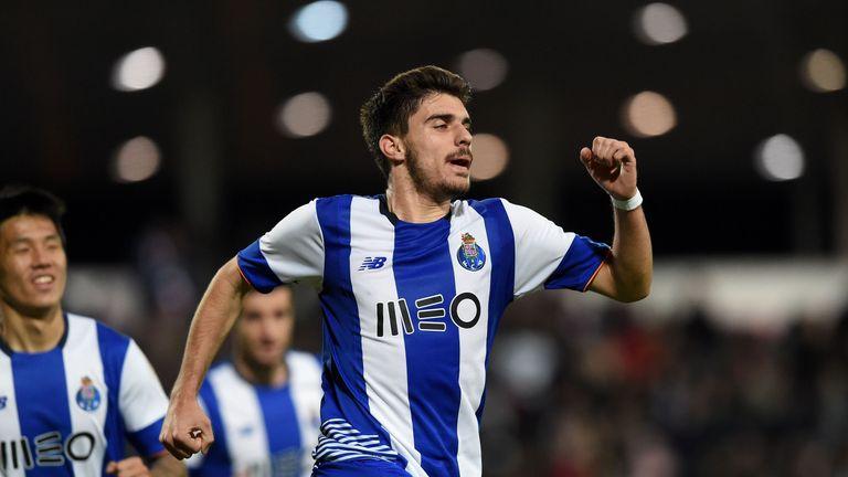 Porto midfielder Ruben Neves