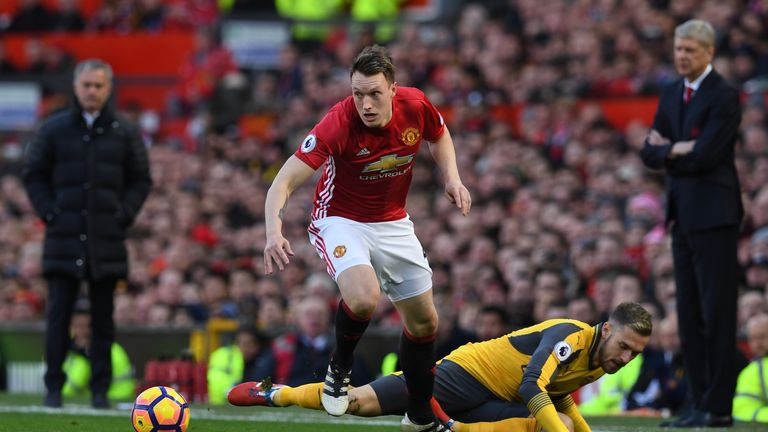 Phil Jones has impressed since returning from injury, but Mourinho still wants depth