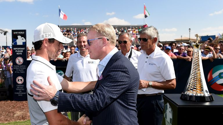 McIlroy is due to meet with Keith Pelley this week