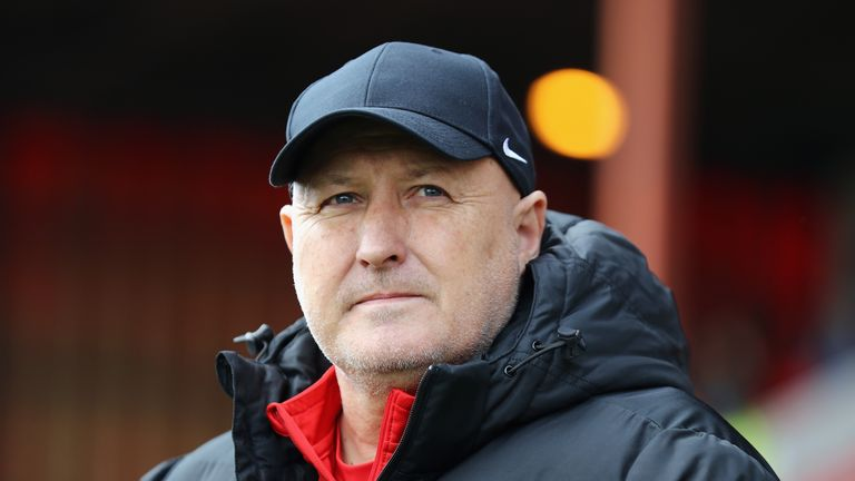 Coventry manager Russell Slade