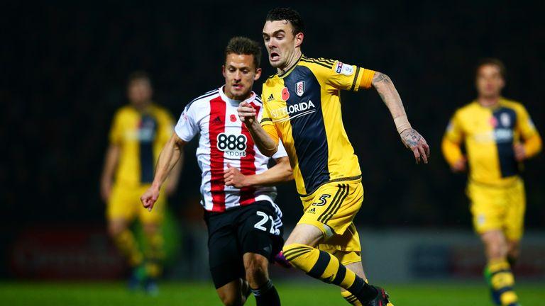Fulham's Scott Malone has impressed Holloway so far