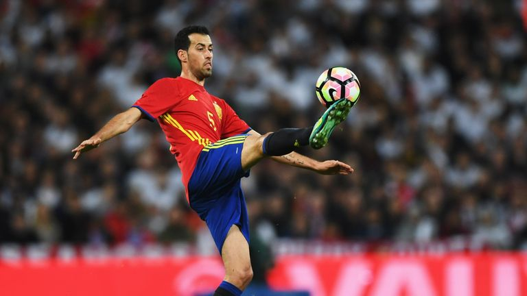 Sergio Busquets has a reputation for play-acting